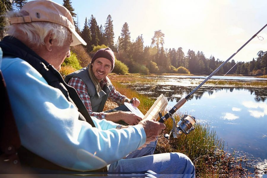 Top Fishing Spots for Father's Day 2021